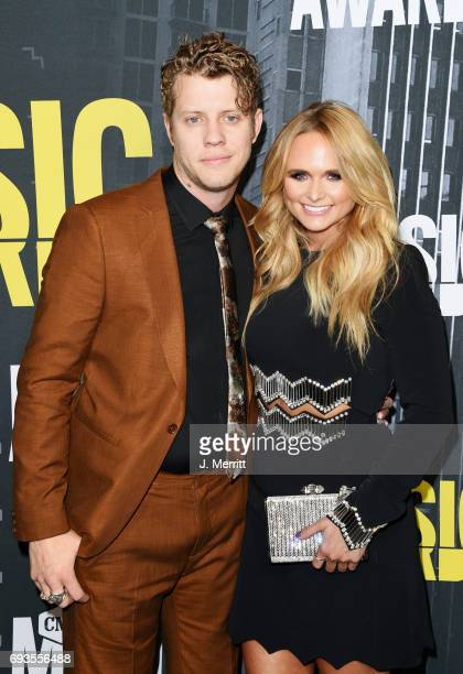 Singersongwriters Anderson East and Miranda Lambert attend the 2017 CMT Music Awards at the Music City Center on June 7 2017 in Nashville Tennessee