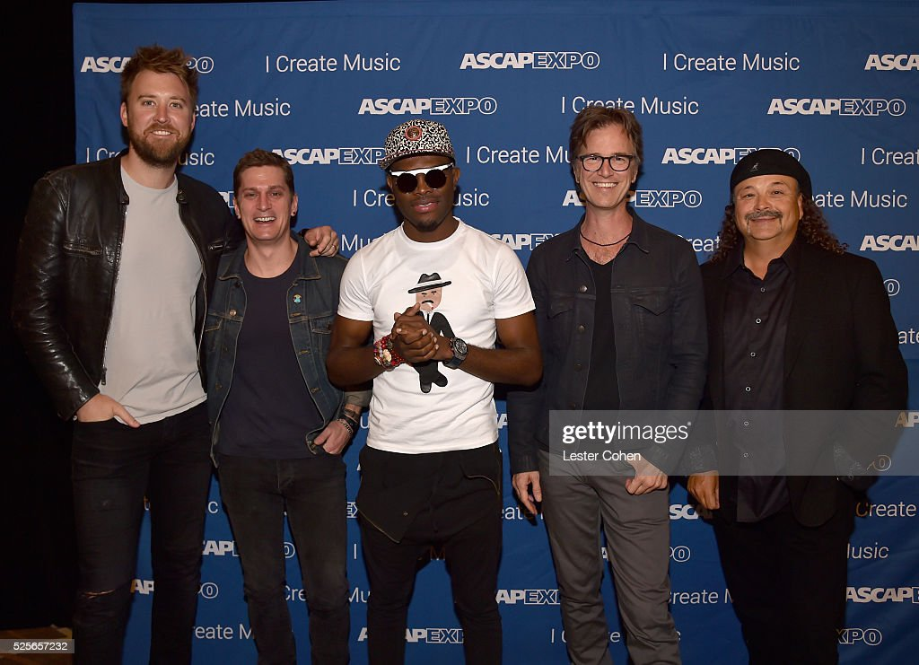 Singer-songwriters Charles Kelley, Rob Thomas, OMI and Dan Wilson, with composer David Vanacore, attend the 2016 ASCAP 'I Create Music' EXPO on April 28, 2016 in Los Angeles, California.