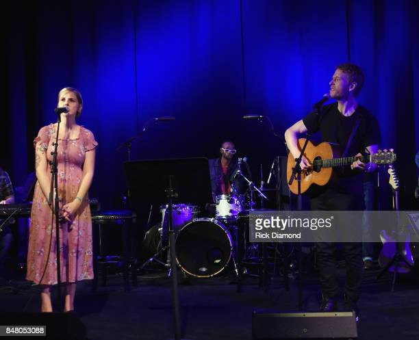 Singer/Songwriters Dori Freeman and Teddy Thompson perform during 18th Annual Americana Music Festival Conference Mike Judge Presents Tales From The...
