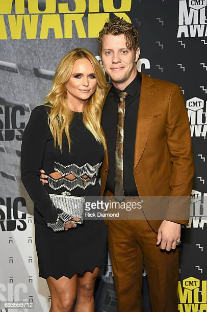 Singersongwriters Miranda Lambert and Anderson East attend the 2017 CMT Music awards at the Music City Center on June 7 2017 in Nashville Tennessee