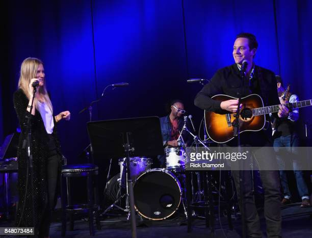 Singer/Songwriters Molly Jenson and Sam Outlaw perform during 18th Annual Americana Music Festival Conference Mike Judge Presents Tales From The Tour...