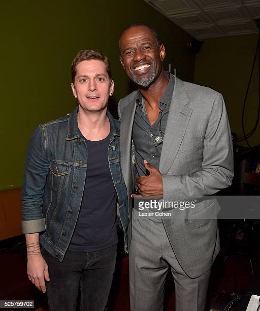 Singersongwriters Rob Thomas and Brian McKnight attend the 2016 ASCAP 'I Create Music' EXPO Center Stage on April 28 2016 in Los Angeles California