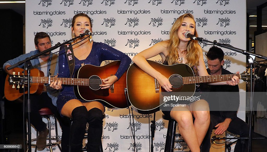 Aqua X Maddie & Tae Capsule Collection Celebration
