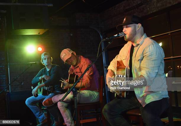 Singer/Songwriters Trea Landon Cole Taylor and Jon Langston perform during Jameson Peach Jam presented by Jameson Irish Whiskey Proceeds benefit The...