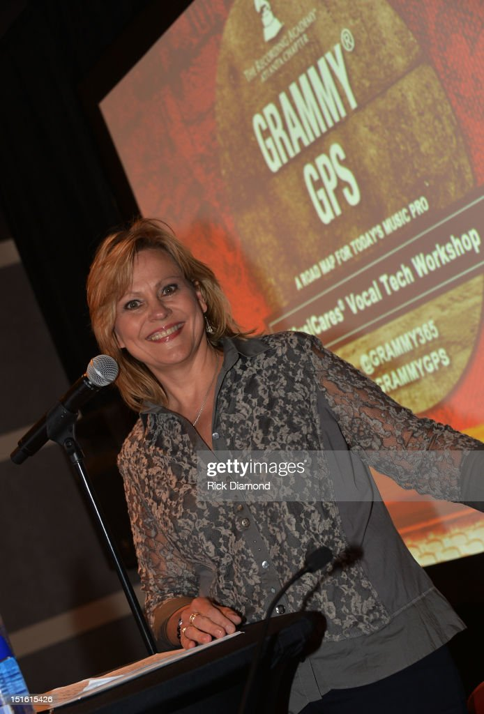 Singer/Songwriter/Vocal Coach Jan Smith attend GRAMMY GPS - A Road Map For Today's Music Pro at W Atlanta Buckhead on September 8, 2012 in Atlanta, Georgia.