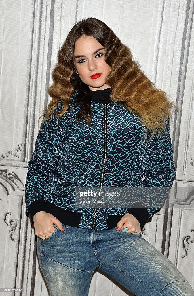 Singer/songwriting <a gi-track='captionPersonalityLinkClicked' href=/galleries/search?phrase=JoJo+-+Singer&family=editorial&specificpeople=202981 ng-click='$event.stopPropagation()'>JoJo</a> visits AOL Build to discuss her upcoming album 'III' and her highly anticipated world tour at AOL Studios In New York on January 26, 2016 in New York City.