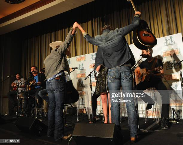 Singers/Songwriters and Birthday boys Justin Moore and Thomas Rhett along with General Mills Big Machine Records and Feeding America join forces to...