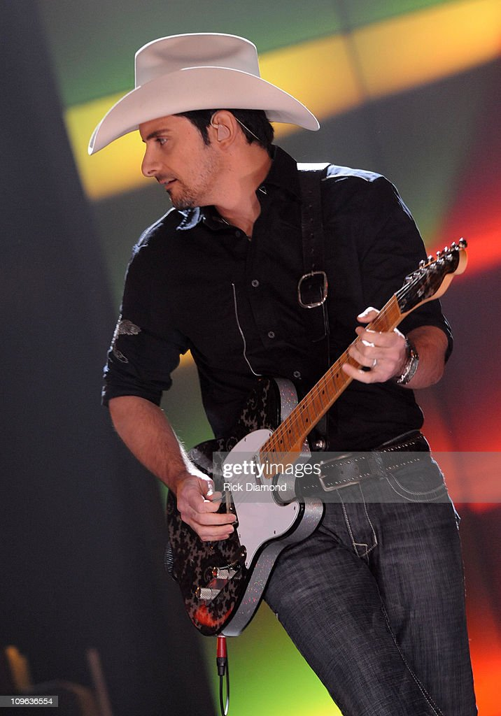 Singers/Songwriters Brad Paisley at the Taping of CMT 'GIANTS' Honoring Alan Jackson at The Ryman Auditorium on October 30, 2008 in Nashville, Tennessee. CMT 'GIANTS' airs December 6, 2008 at 9pm ET only on CMT.