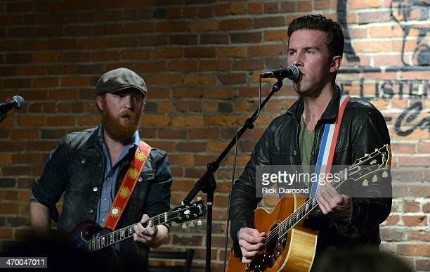 Singers/Songwriters Brothers Osborne John Osborne and TJ Osborne perform during the 5th annual Country Music Is Love concert to benefit City of Hope...