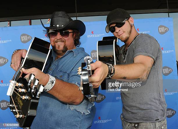 Singers/Songwriters Colt Ford and Brantley Gilbert during the BMI Party honoring 'Dirt Road Anthem' Performed By Jason Aldean written by Colt Ford...
