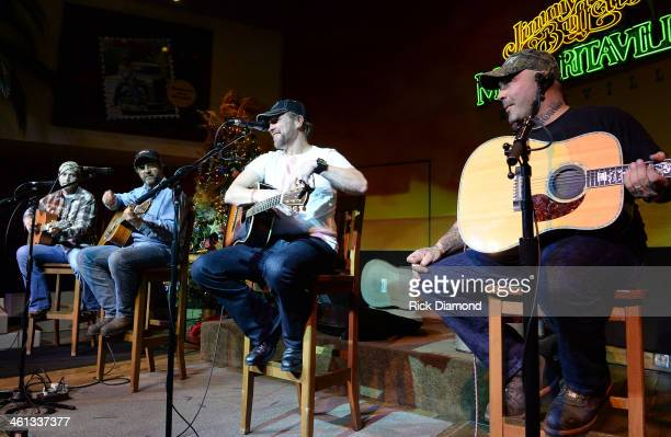Singers/Songwriters Josh Thompson PhilBilly Craig Morgan and Aaron Lewis the 2014 ATA Trade Show Party sponsored by F3 Entertainment at...