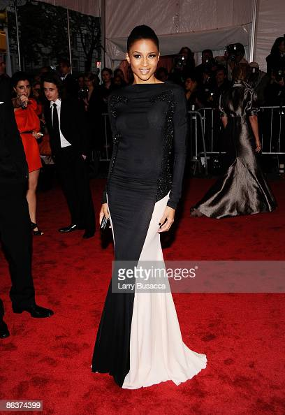 Singert Ciara attends 'The Model as Muse Embodying Fashion' Costume Institute Gala at The Metropolitan Museum of Art on May 4 2009 in New York City