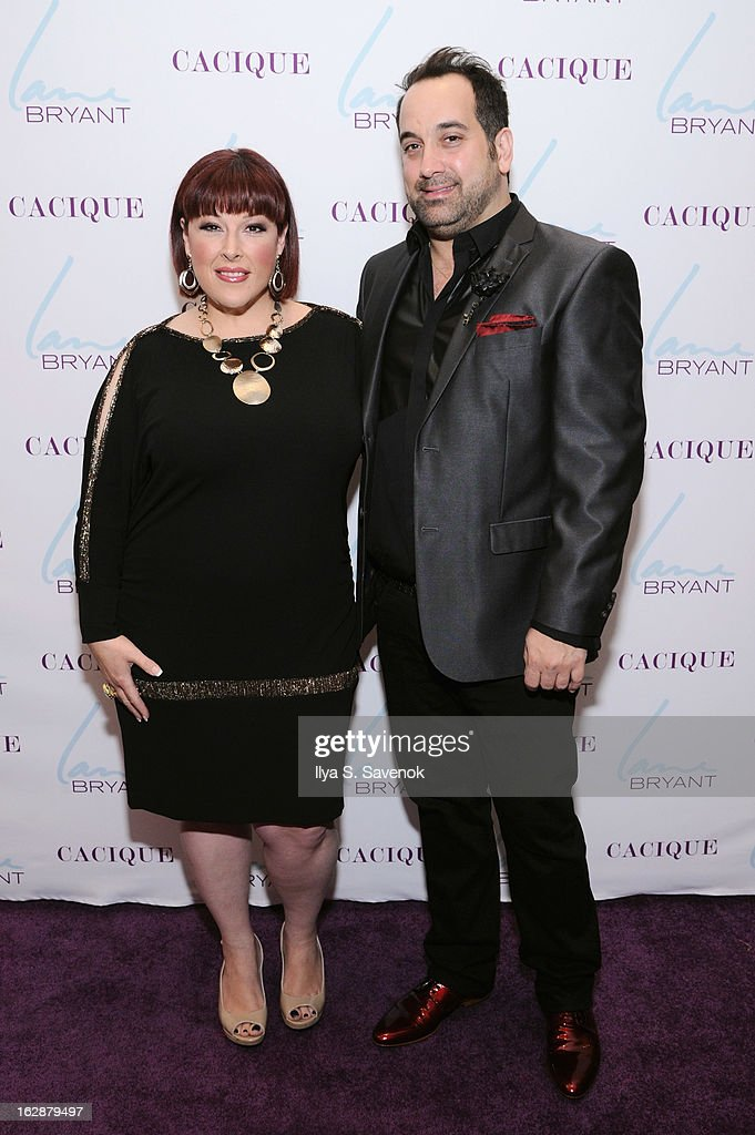 Singer/TV host Carnie Wilson and stylist Art Conn attend Carnie Wilson & Jay Manuel Celebrate Lane Bryant's NYC Flagship on February 28, 2013 in New York City.