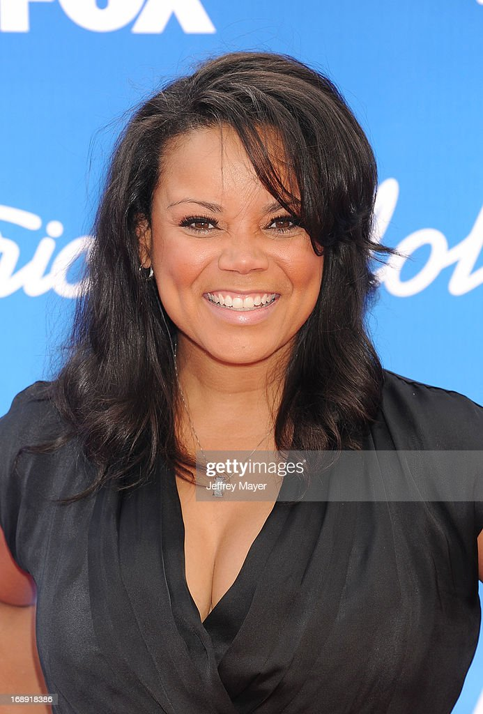 Singer/TV Personality Kimberley Locke arrives at FOX's 'American Idol' Grand Finale at Nokia Theatre L.A. Live on May 16, 2013 in Los Angeles, California.