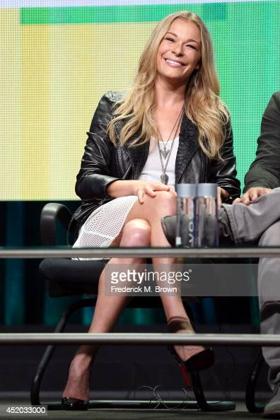 Singer/TV personality LeAnn Rimes speaks onstage at the 'Leann and Eddie' panel during the Viacom portion of the 2014 Summer Television Critics...