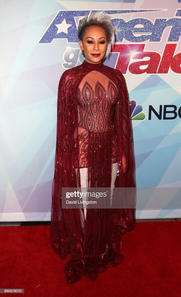 Singer/TV personality Mel B attends NBC's 'America's Got Talent' season 12 finale at Dolby Theatre on September 20, 2017 in Hollywood, California.