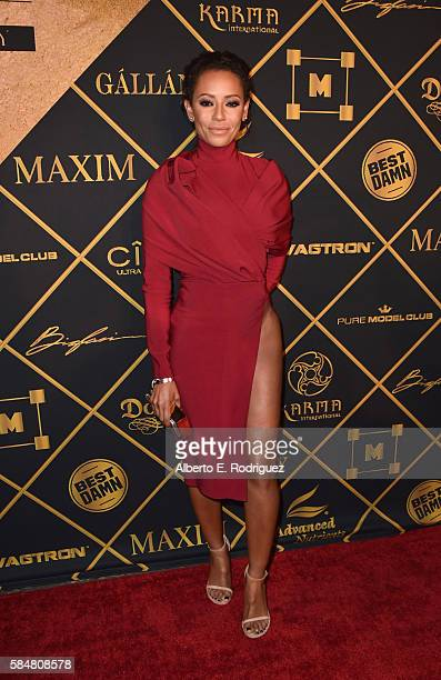 Singer/TV personality Mel B attends the Maxim Hot 100 Party at the Hollywood Palladium on July 30 2016 in Los Angeles California
