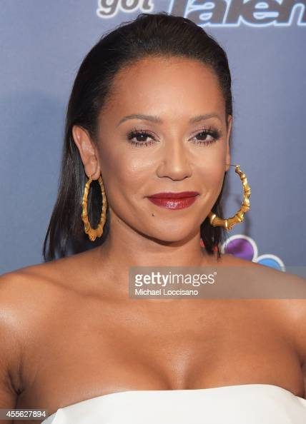 Singer/TV personality Melanie Brown aka Mel B attends the 'America's Got Talent' season 9 finale red carpet event at Radio City Music Hall on...