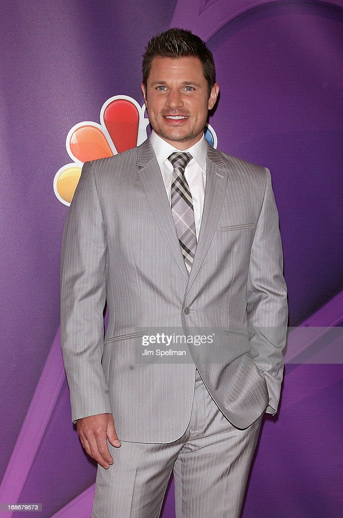 Singer/tv personality Nick Lachey attends 2013 NBC Upfront Presentation Red Carpet Event at Radio City Music Hall on May 13, 2013 in New York City.