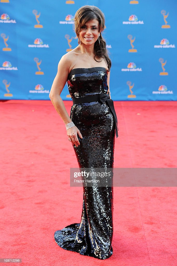 Singer/tv personality Paula Abdul arrives at the 62nd Annual Primetime Emmy Awards held at the Nokia Theatre L.A. Live on August 29, 2010 in Los Angeles, California.