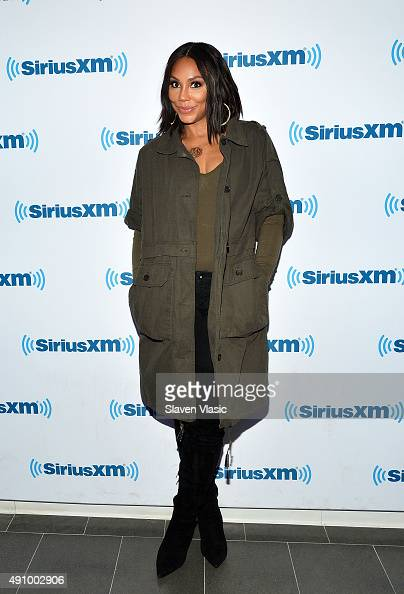 Singer/TV personality Tamar Braxton visits SiriusXM Studios on October 2 2015 in New York City
