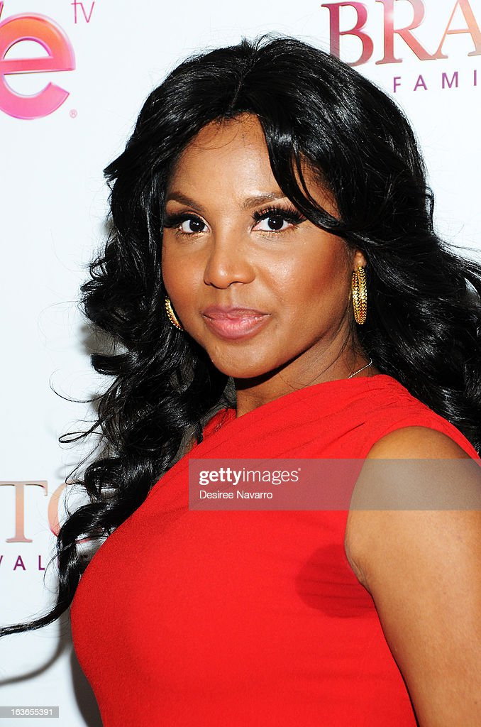 Singer/TV Personality Toni Braxton attends the 'Braxton Family Values' Season Three premiere party at STK Rooftop on March 13, 2013 in New York City.