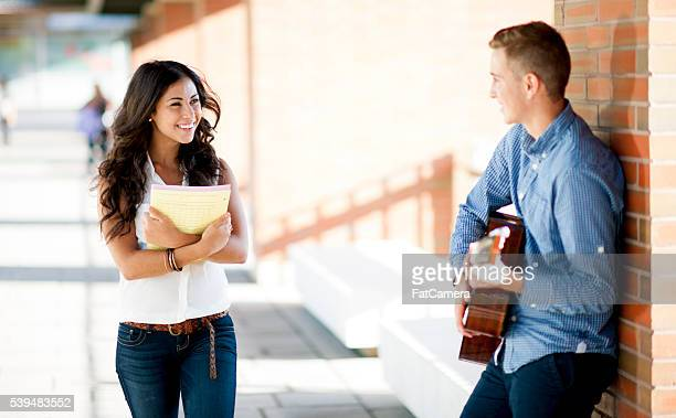 Singing a Song on Campus
