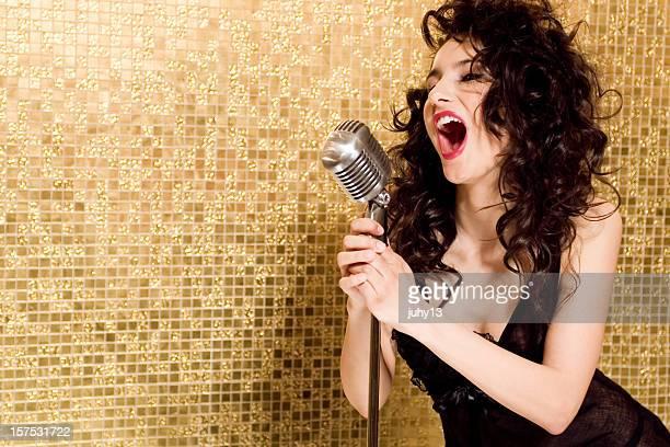 Singen Mädchen