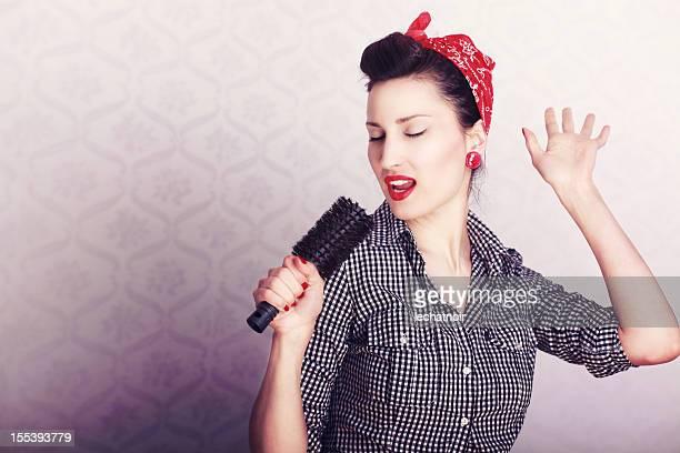 Singen Hausfrau