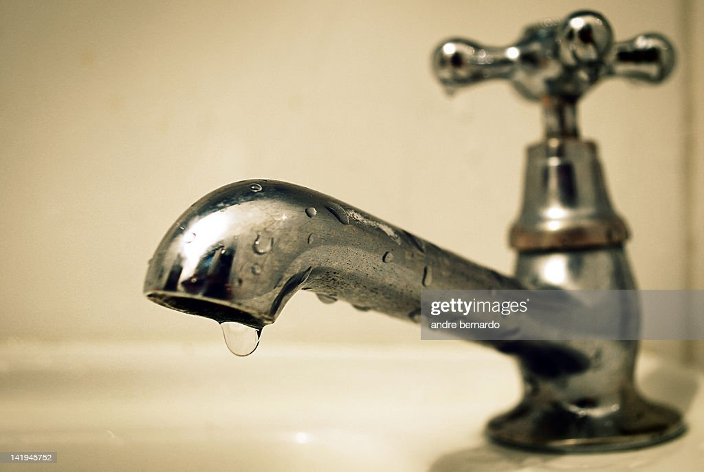 Single drop makes difference : Stock Photo