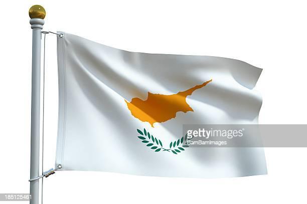 Eine Flagge – Zypern