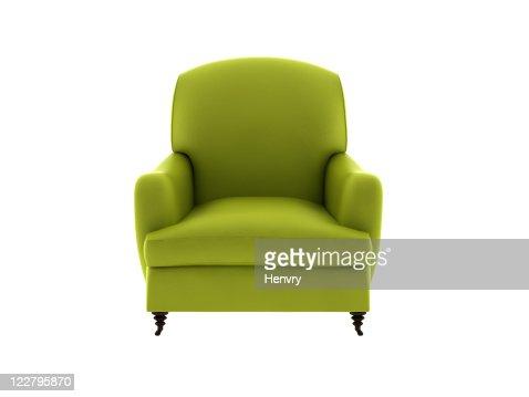 Un sofá de cuero