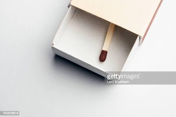 Single match in matchbox