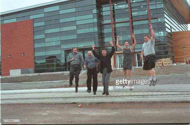 Single person shot is of Art Birchenough senior advisor on Sheridan College campus development He was responsible for guiding building of the $32...