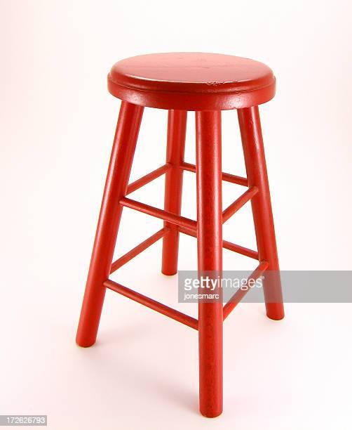 Rote Hocker