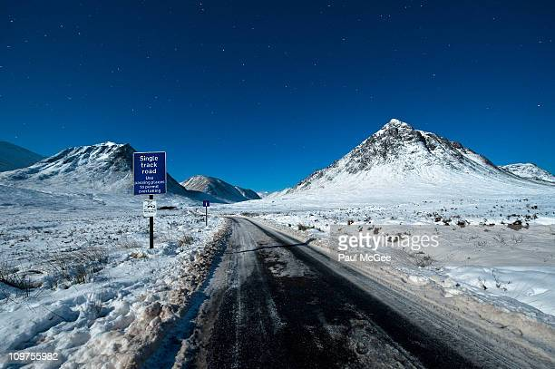 Single Track Road, Starry Night