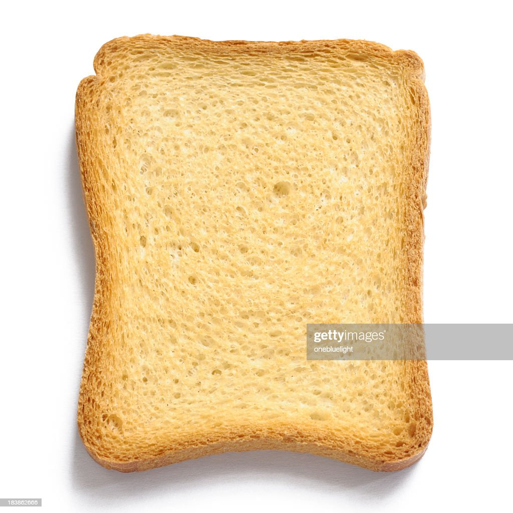 Royalty free stock photo of french toast on white background