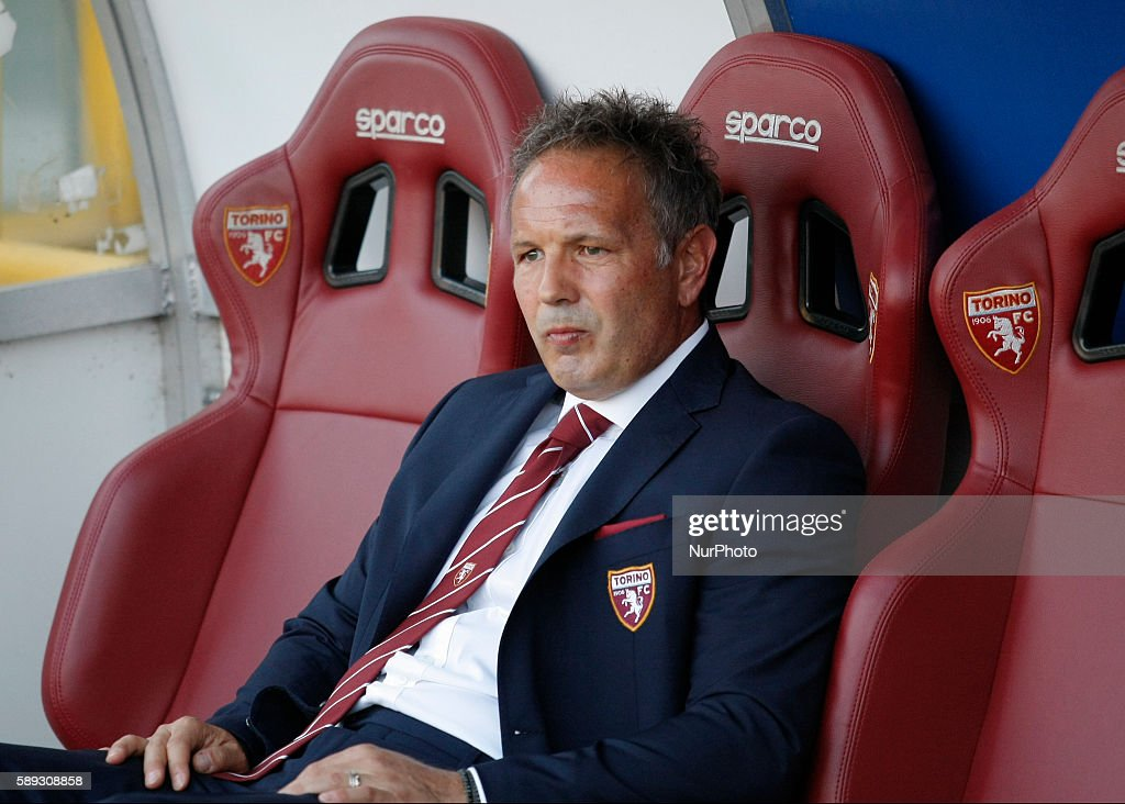 Sinisa Mihajlovic before the Tim Cup 20162017 match between Torino FC and FC Pro Vercelli at the Olympic Stadium of Turin on august 013 2016 in...