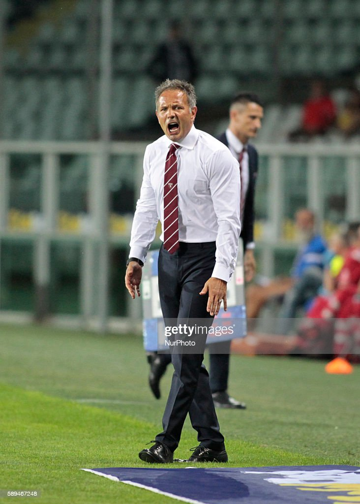 Sinisa Mihajlovic during Tim Cup 20162017 match between Torino FC and FC Pro Vercelli at the Olympic Stadium of Turin on august 013 2016 in Torino...