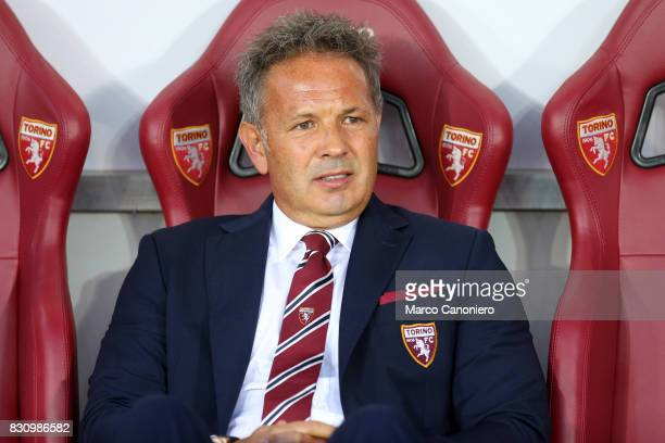 Sinisa Mihajlovic head coach of Torino FC looks on before the Coppa Italia Tim football match between Torino FC and Trapani Calcio Torino Fc wins 71...