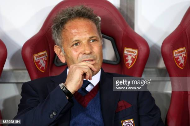 Sinisa Mihajlovic head coach of Torino FC looks on before the Serie A football match between Torino FC and Cagliari Calcio Torino Fc wins 21 over...