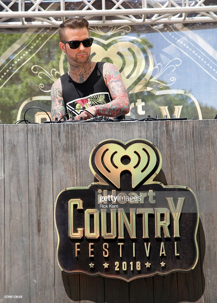 DJ Sinister performs live during the 2016 Daytime Village at the iHeartCountry Festival at The Frank Erwin Center on April 30, 2016 in Austin, Texas.