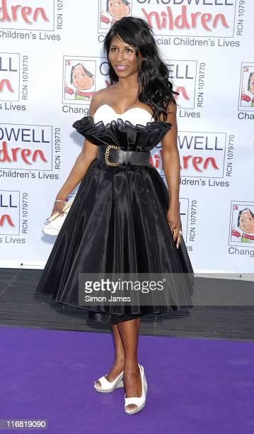 Sinitta arrives at the Caudwell Childrens 'Legends' Charity Ball on May 08 2008 in London England