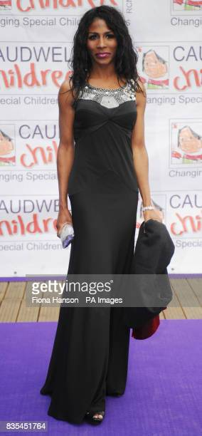 Sinitta arrives for the Butterfly Ball in Battersea Park London The event by Caudwell Children aims to raise funds for disabled children
