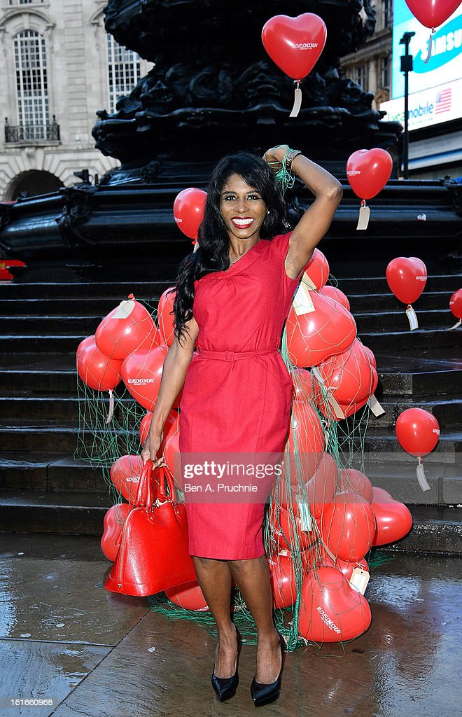 <a gi-track='captionPersonalityLinkClicked' href=/galleries/search?phrase=Sinitta&family=editorial&specificpeople=1797588 ng-click='$event.stopPropagation()'>Sinitta</a> attends a photocall to launch 'Love London Day' at Picadilly Circus on February 14, 2013 in London, England.