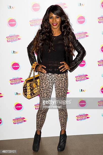 Sinitta attends Lorraine's High Street Fashion Awards on May 21 2014 in London England