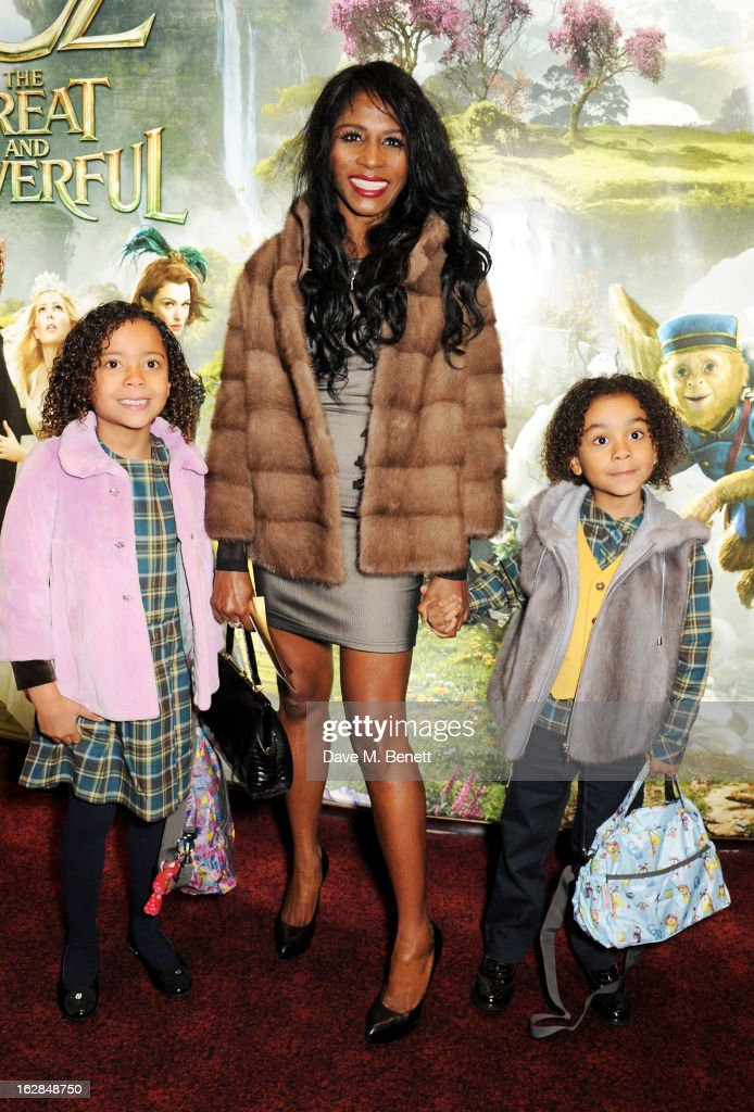Sinitta attends the European Premiere of 'Oz: The Great and Powerful' at Empire Leicester Square on February 28, 2013 in London, England.