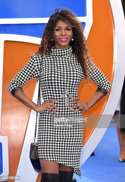 Sinitta attends the European premiere of 'Tomorrowland A World Beyond' at Odeon Leicester Square on May 17 2015 in London England