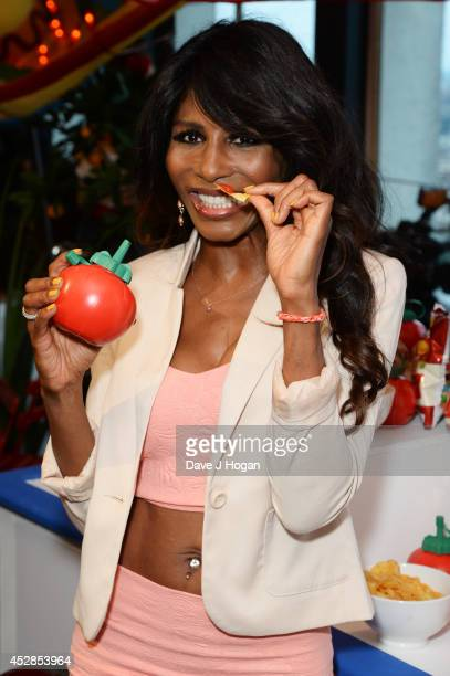 Sinitta attends the Walkers 'Do Us A Flavour' finalists launch at Centrepoint on July 28 2014 in London England