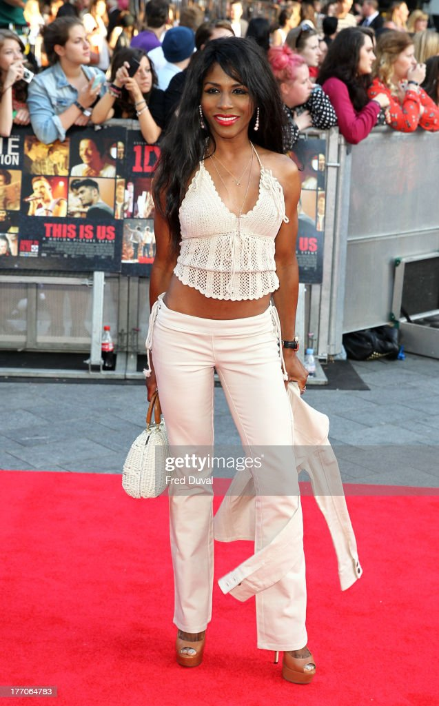 <a gi-track='captionPersonalityLinkClicked' href=/galleries/search?phrase=Sinitta&family=editorial&specificpeople=1797588 ng-click='$event.stopPropagation()'>Sinitta</a> attends the World Premiere of 'One Direction: This Is Us' at Empire Leicester Square on August 20, 2013 in London, England.